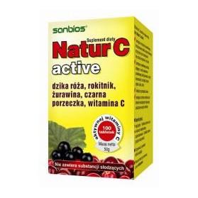 Natur C Active 100 tablets, Sanbios
