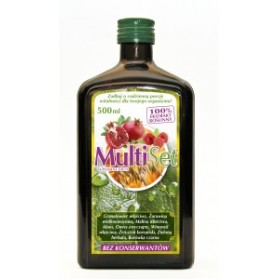 MultiSet 500ml  Diet Supplement Vitality For Your Body