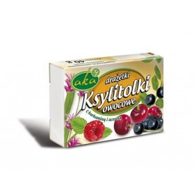 Ksylitolki fruit candies 40g