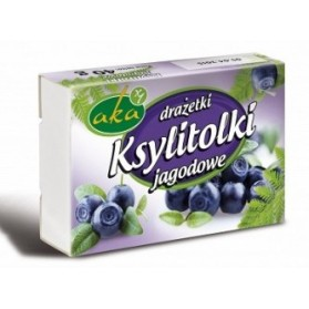 Ksylitolki Blueberries candies 40g