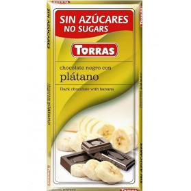 Sugar Free Dark Chocolate with Banana(75g)