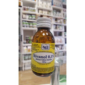 RIVANOL 0.1% solution of 100g preparation for wounds