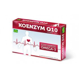 Coenzyme Q10 - 700mg High content of Omega 3, 60 capsules