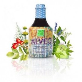 ALVEO GRAPE 950 ml herbal drink containing a refined combination of herbs.