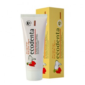 Ecodenta Wild Strawberry Flavoured Toothpaste for Children 75ml
