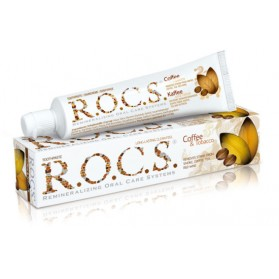 Toothpaste R.O.C.S.® Coffee & Tobacco 74g