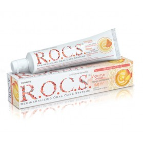 Toothpaste R.O.C.S.® for sensitive teeth  Viennese Dessert - Mango and Banana 74g