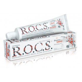 Toothpaste-Gel R.O.C.S.® Blooming Sakura - Refreshing mint 74g