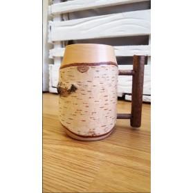 Handmade Wooden Mug number 1