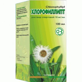Chlorophyllipt 100ml NATURAL ANTIBIOTIC