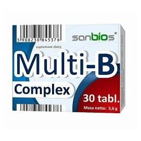 MULTI-B COMPLEX 30 tablets