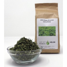 CBD Hemp Tea , Sativa Hemp  100 grams
