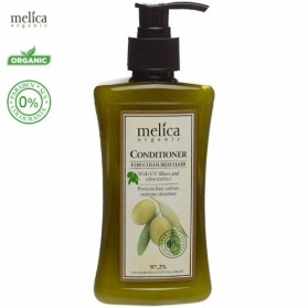 Melica Organic Conditioner for coloured hair with UV filters and olive extract 300ml