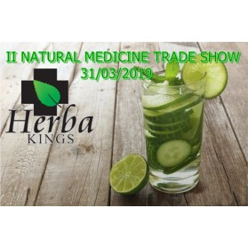 2nd  Natural Medicine Trade Show 31 3 19 Ticket for admission  and lectures