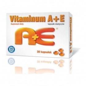 Vitamin A + E Hasco (retinol + tocopherol) - soft capsules