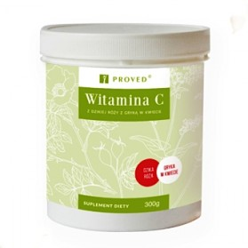 Vitamin C from wild rose with buckwheat in blossom, 300g, Proved