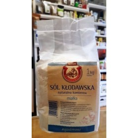 Kłodawa salt, natural, fine 1kg