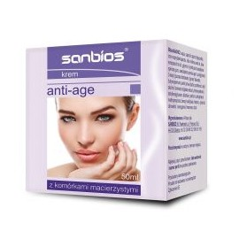 Cream With Snail Slime For Each Skin Type, Brightening, Nourishing 50ml Sanbios