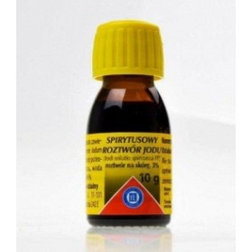 Spirit iodine solution 3%, 10g