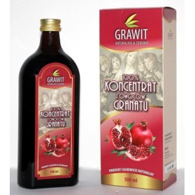 Concentrate with 100% pomegranate fruit, Grawit, 500ml