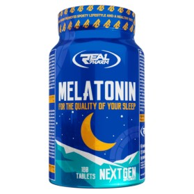 Melatonin 180 tablets for a deep and restful sleep, Real Pharm