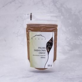 Palma sabałowa - owoc 50 g  prostata, nadmierne owłosienie  u kobiet, trądzik